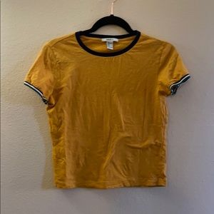 Forever 21 Small Tee yellow